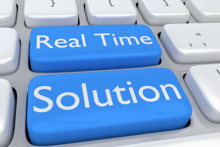 real time solution logo